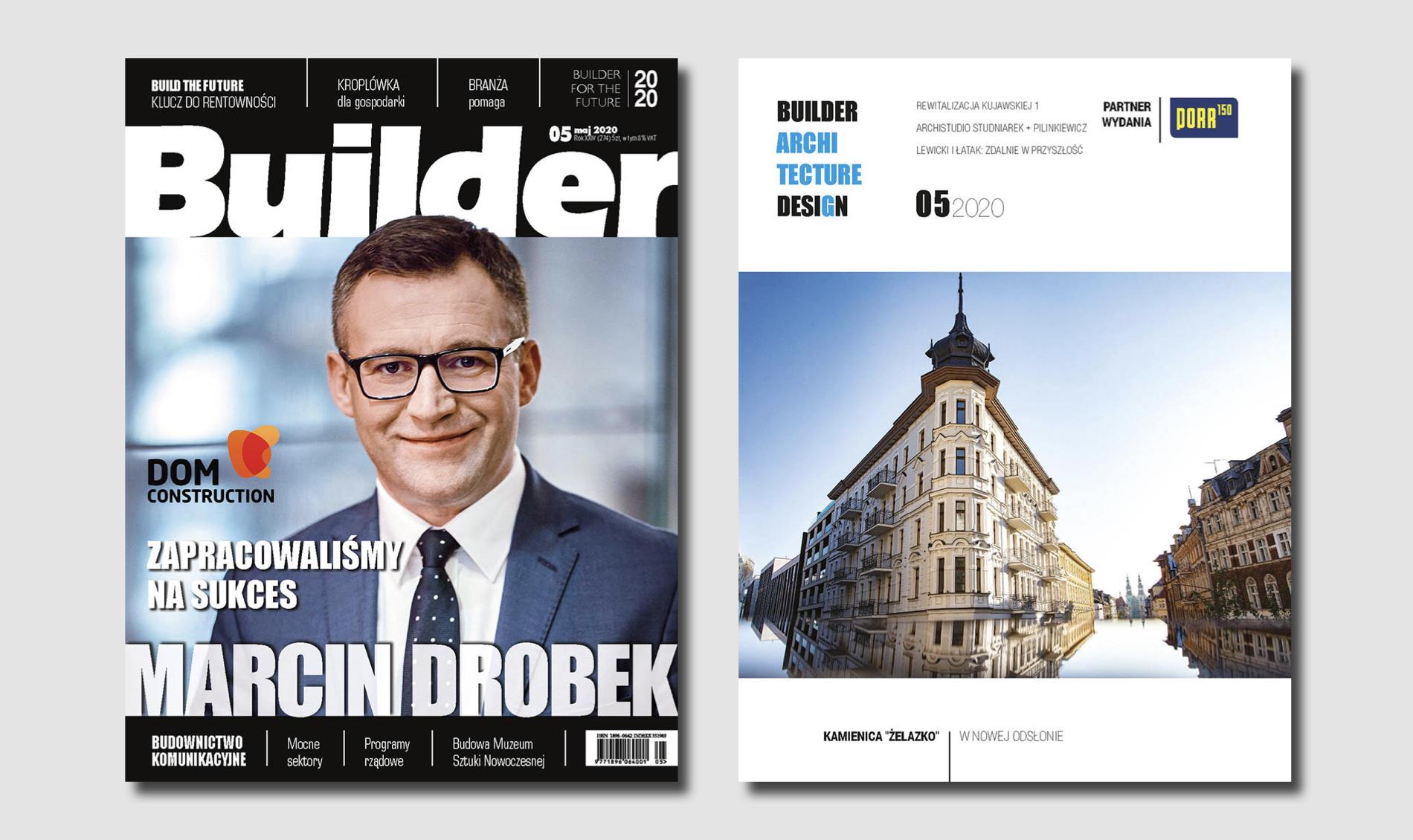 BUILDER – MAJ 2020