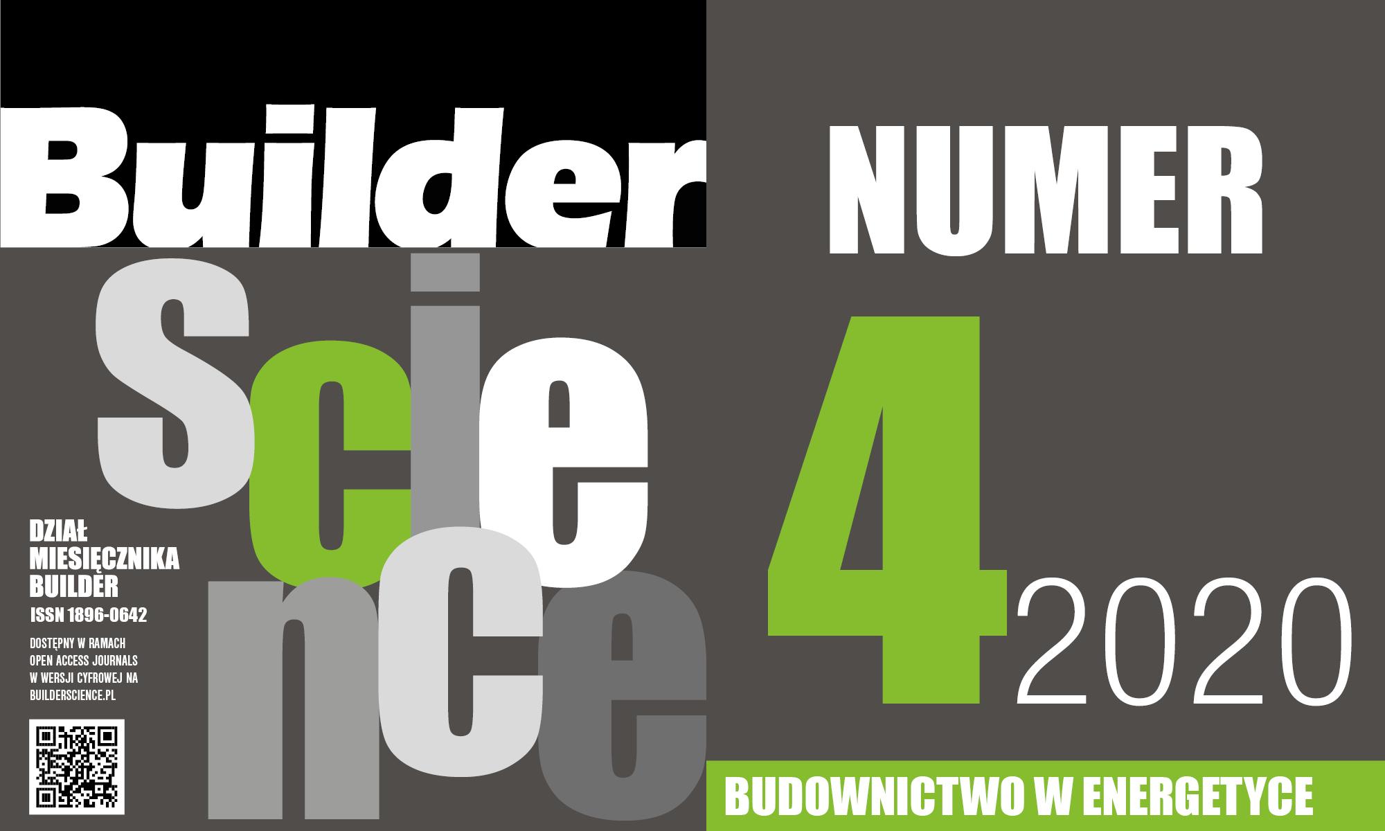 BUILDER SCIENCE 04.2020