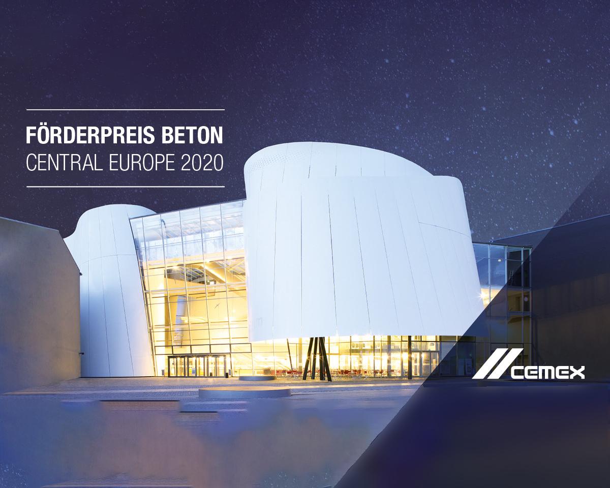 Przedłużony nabór w konkursie CEMEX Förderpreis Beton Central Europe