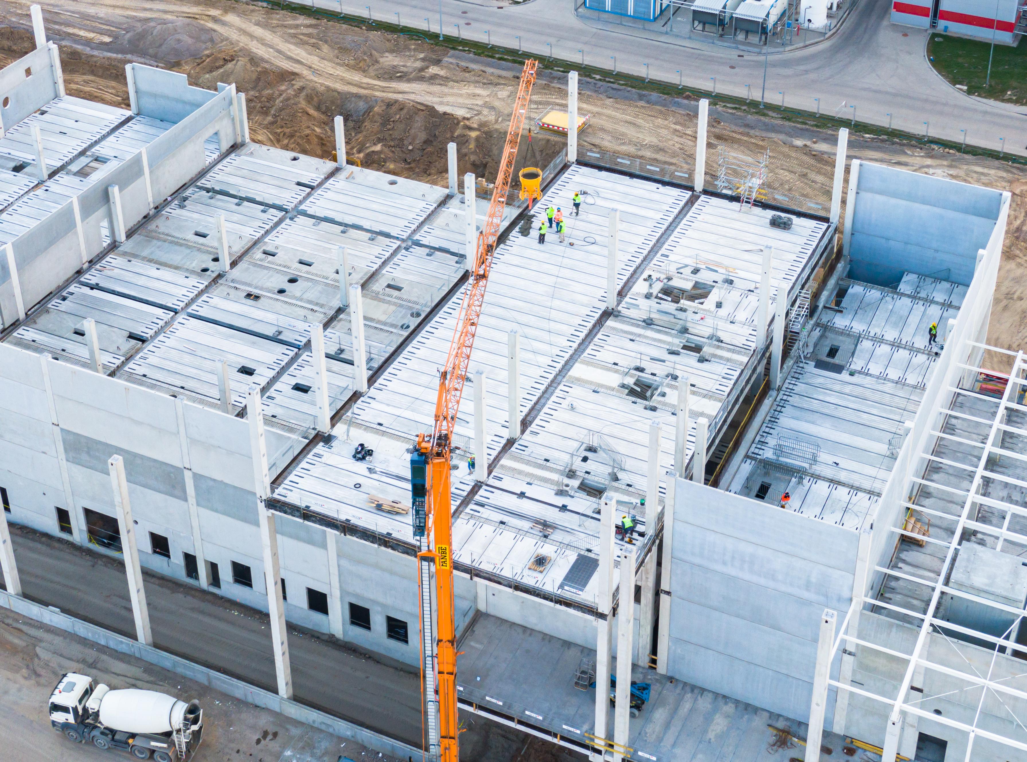 MCKB sp. z o. o. realizuje dla Uma Investments  sp. z o. o. przebudowę i rozbudowę budynku produkcyjno-magazynowego