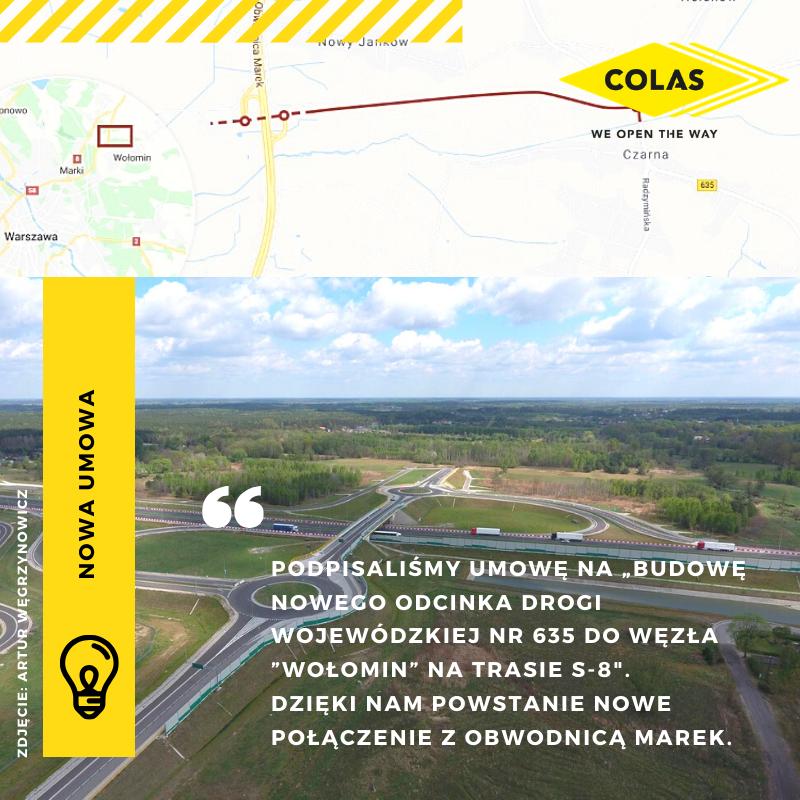 Gorący moment dla COLAS Polska Sp. z o.o.