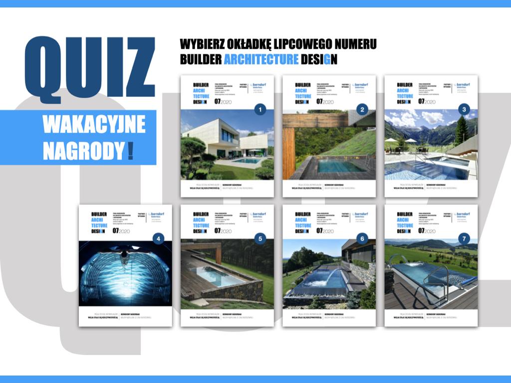 WYBIERZ OKŁADKĘ LIPCOWEGO BUILDER ARCHIECTURE DESIGN
