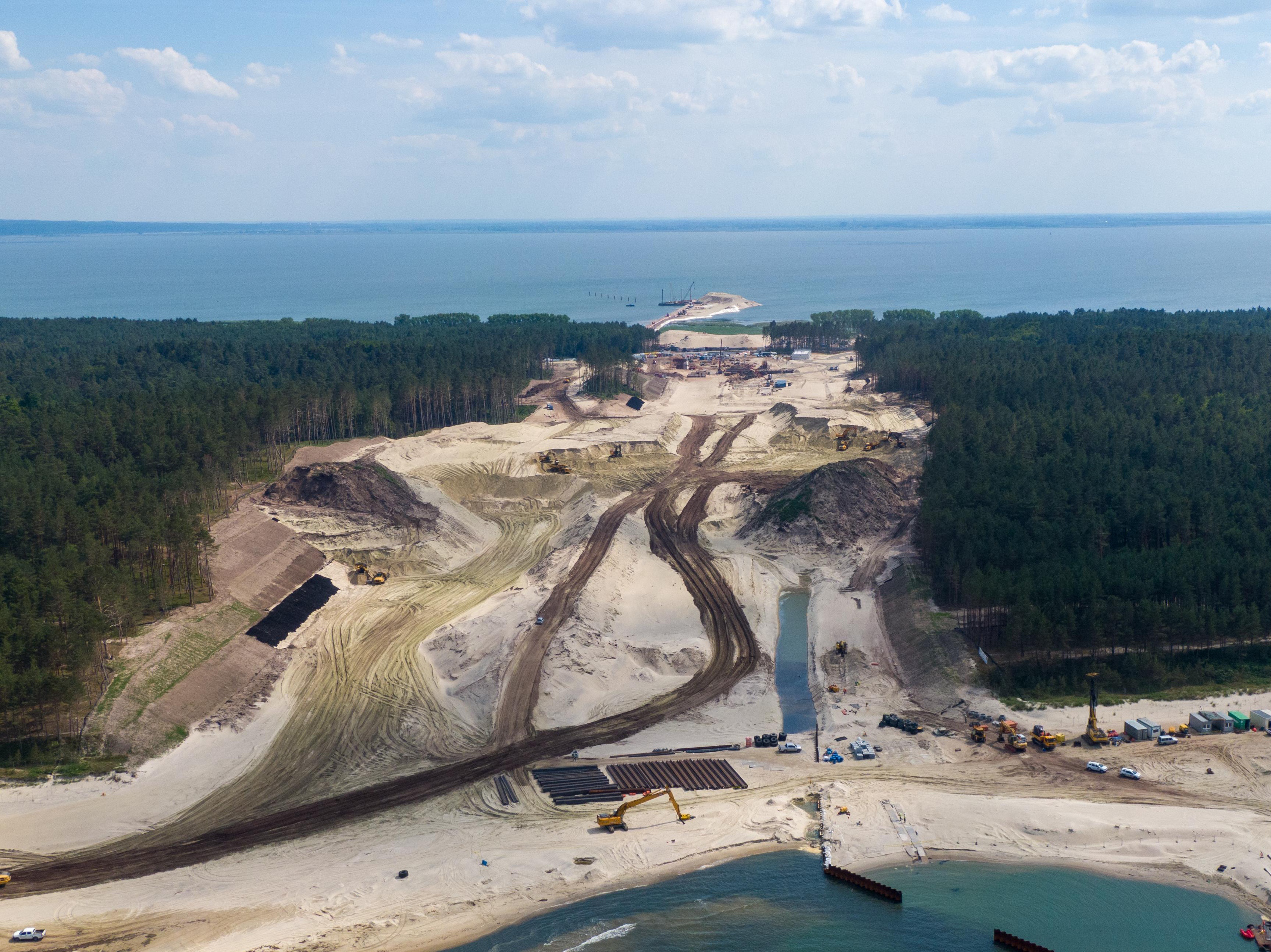 Budowa drogi wodnej łączącej Zalew Wiślany z Zatoką Gdańską