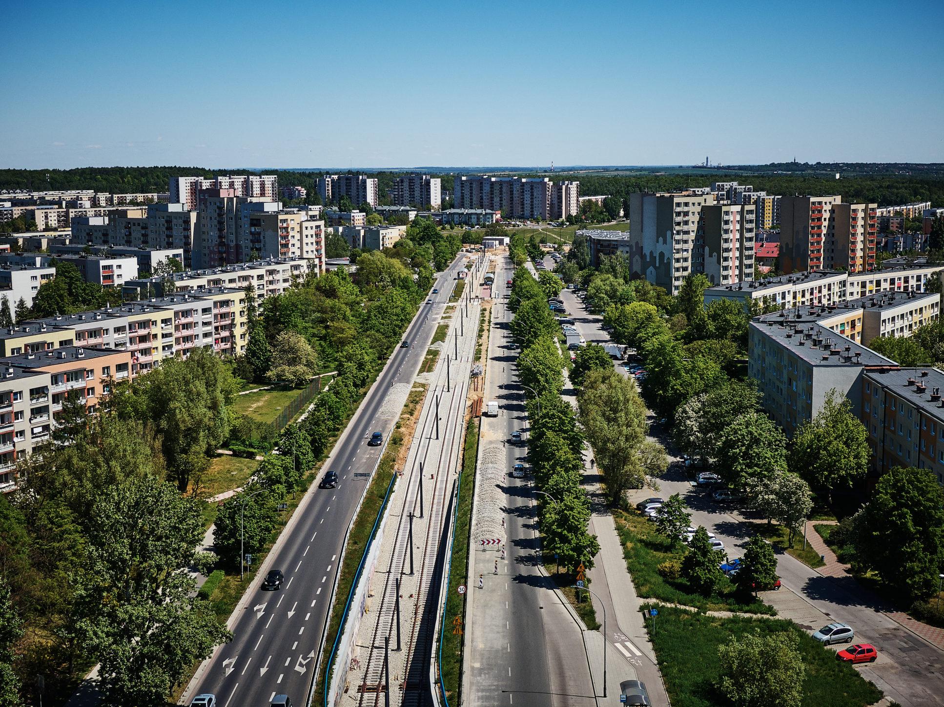 Przebudowa torowiska w centrum Częstochowy w wakacje