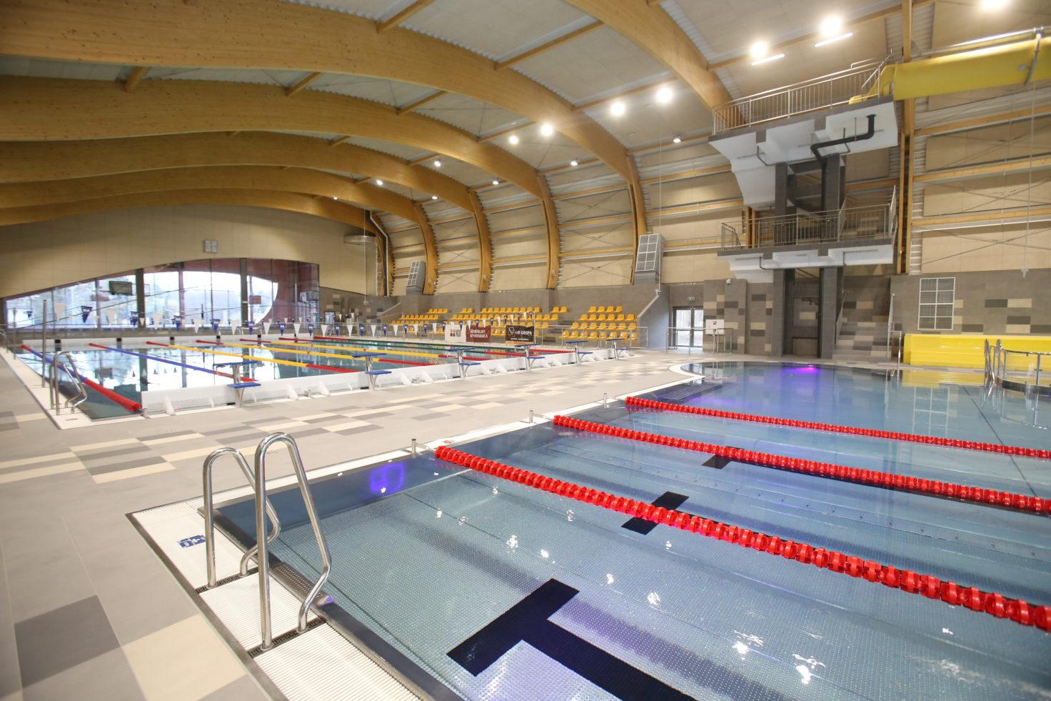 Budowa basenów w Katowicach ukończona