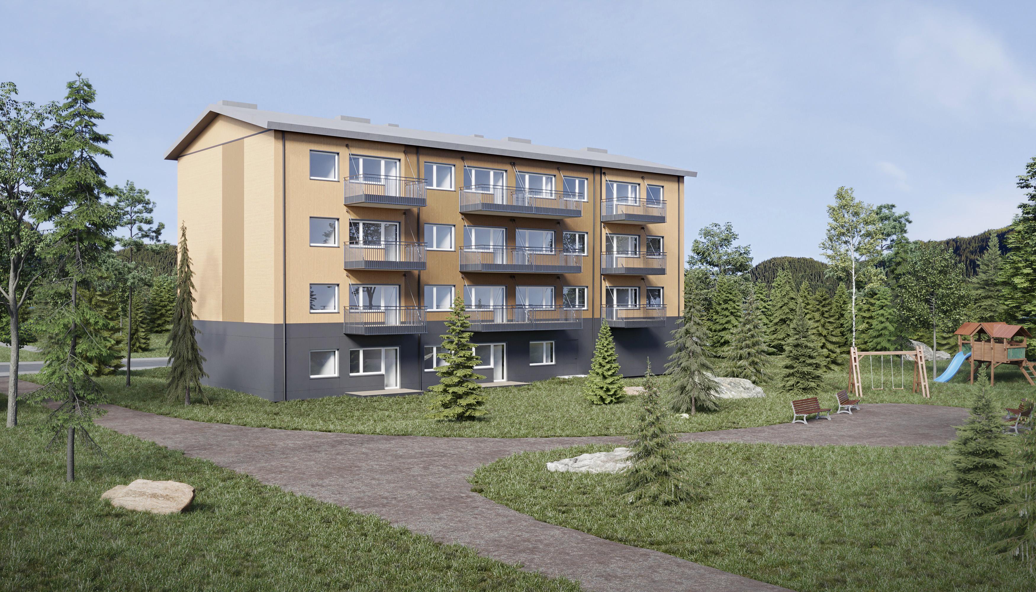 Unihouse w szwedzkim programie mieszkaniowym