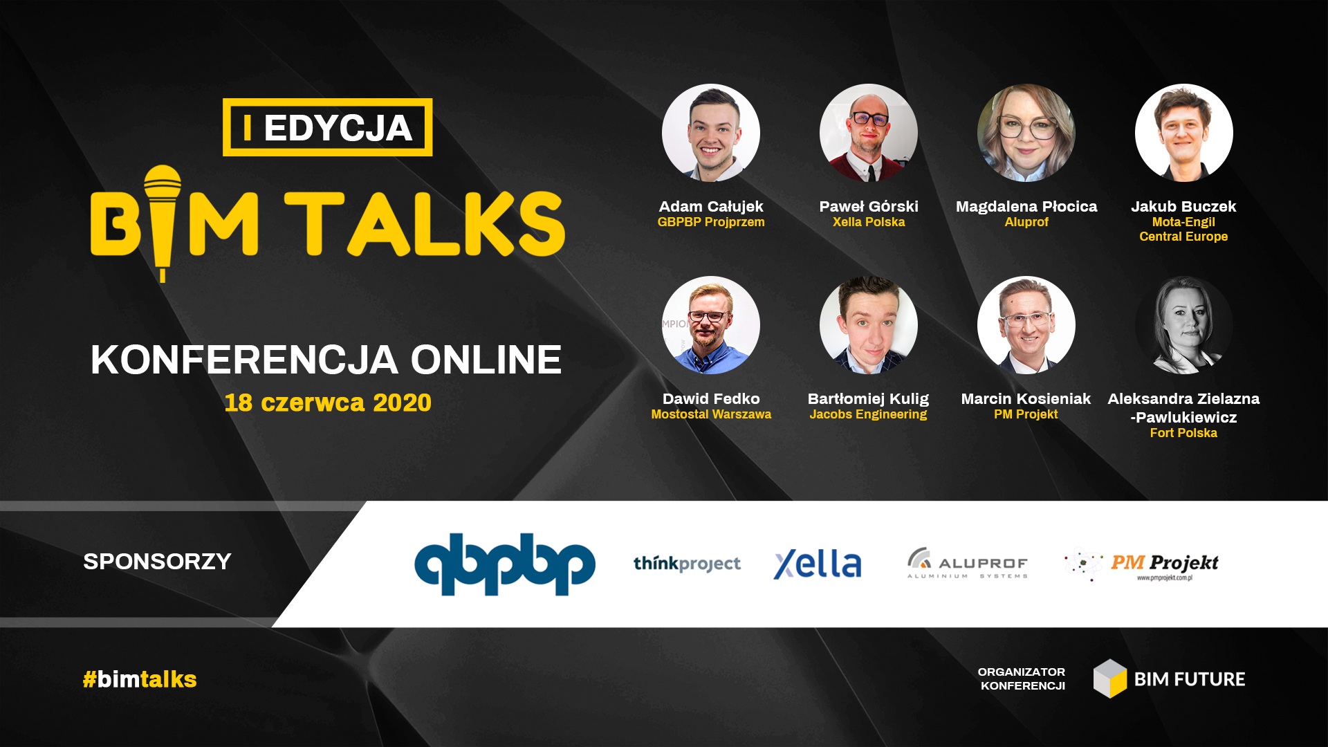 Konferencja online BIM Talks – o praktycznym wykorzystaniu BIM