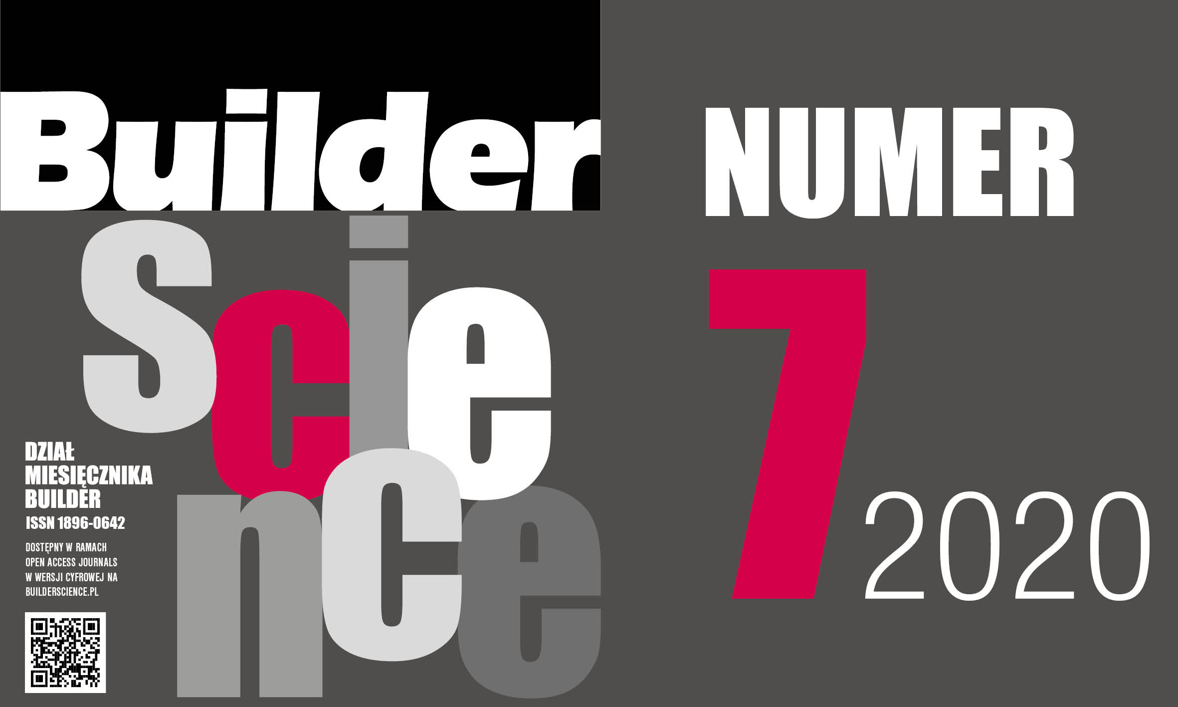 BUILDER SCIENCE 07.2020