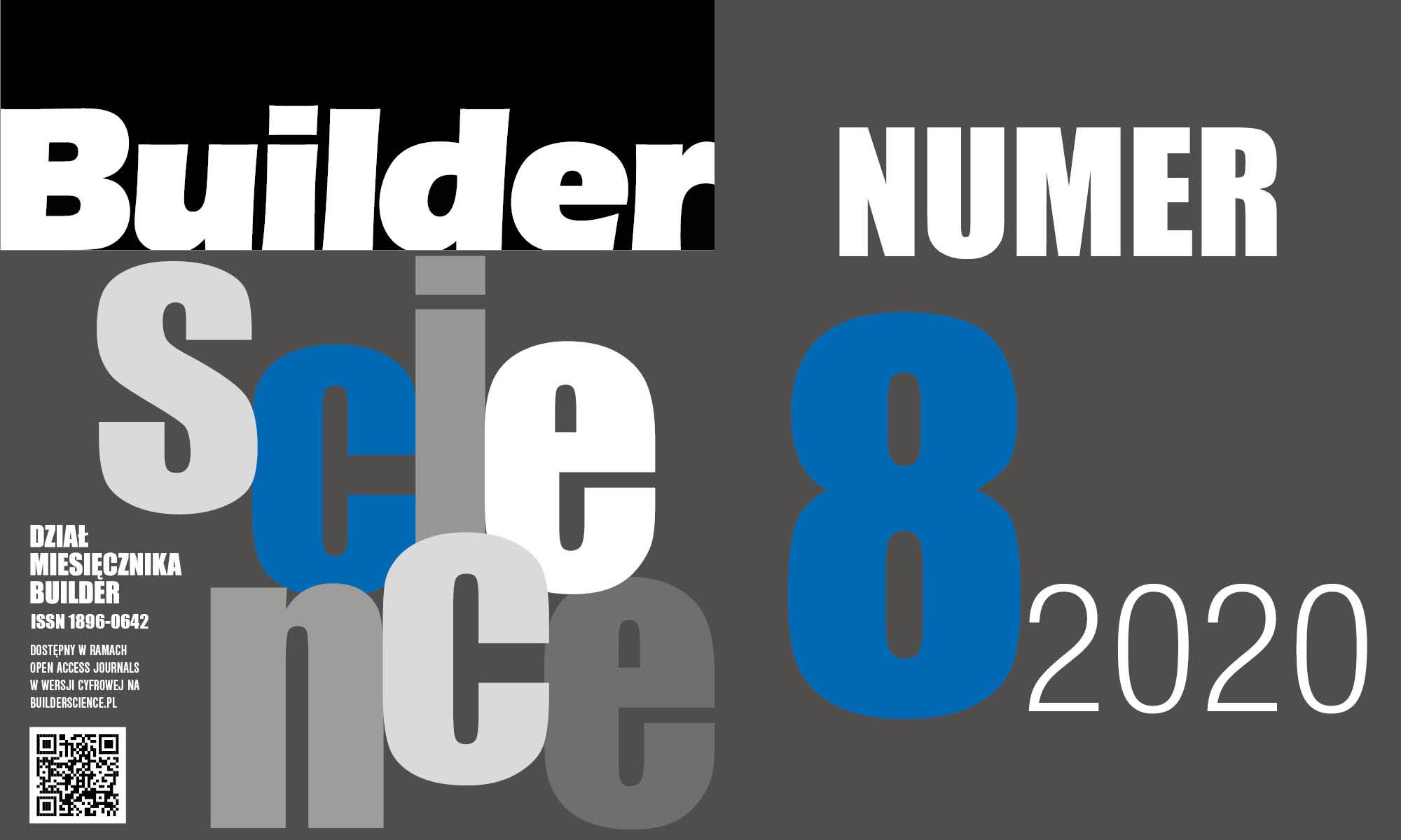 BUILDER SCIENCE 08.2020