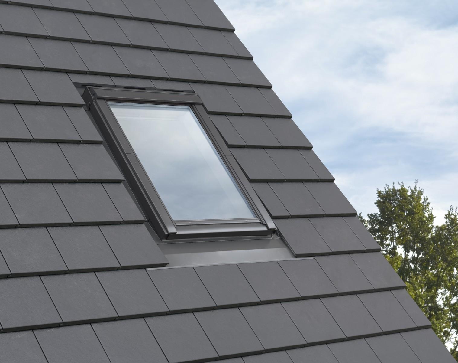 Modny dach z nowym kołnierzem VELUX