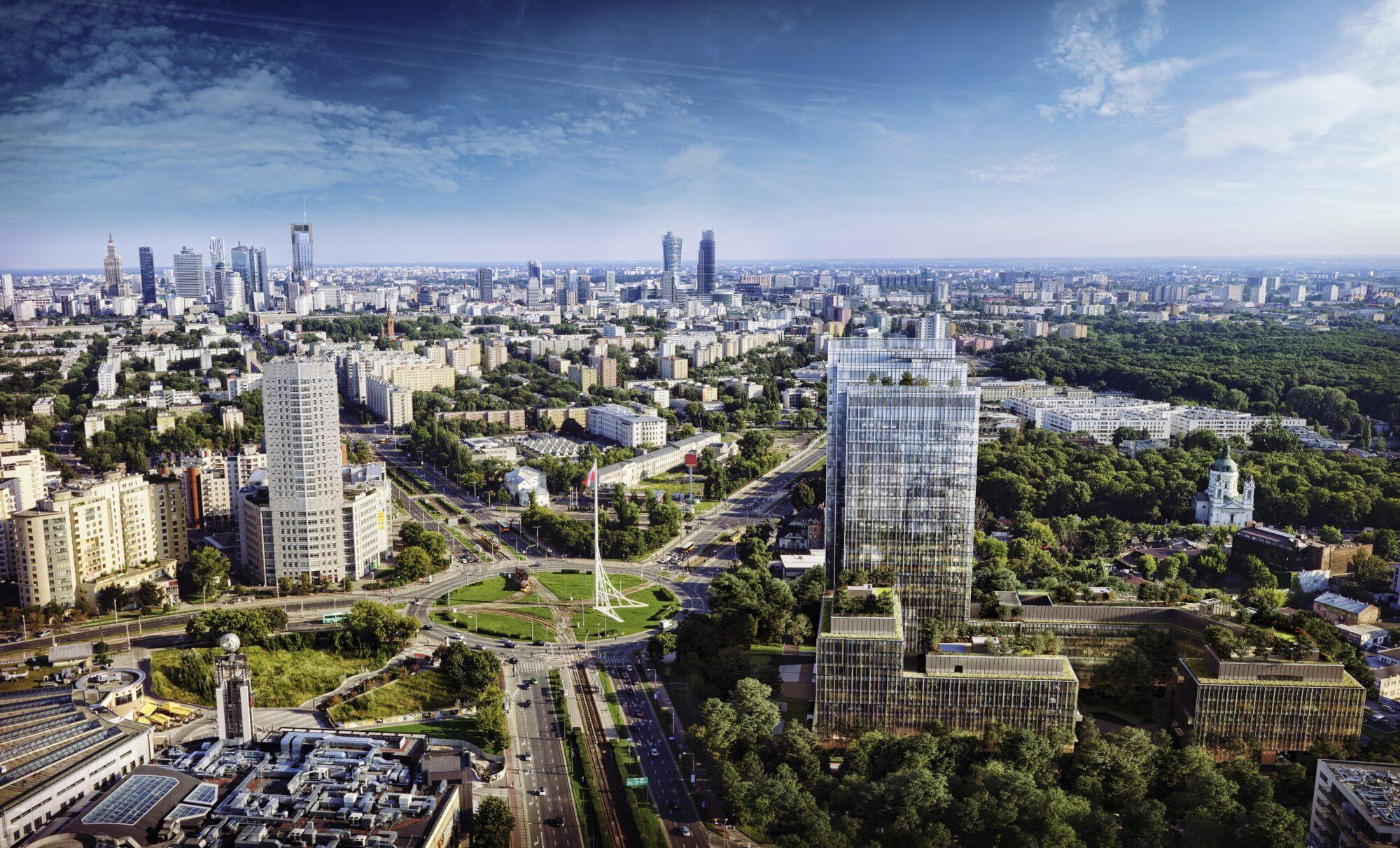 FOREST zielony kampus biurowy w Warszawie