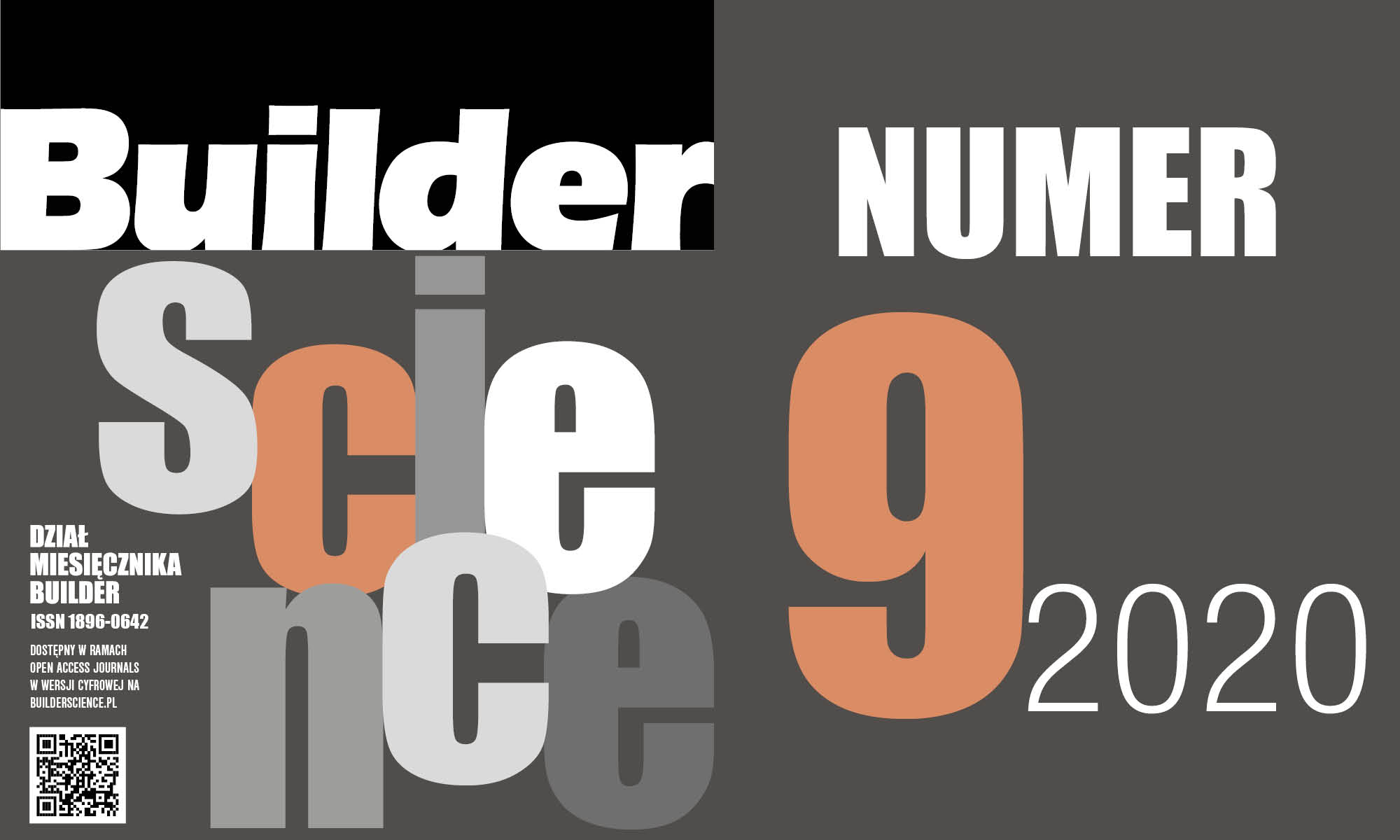 BUILDER SCIENCE 09.2020