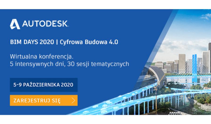 Konferencja Autodesk BIM DAYS 2020