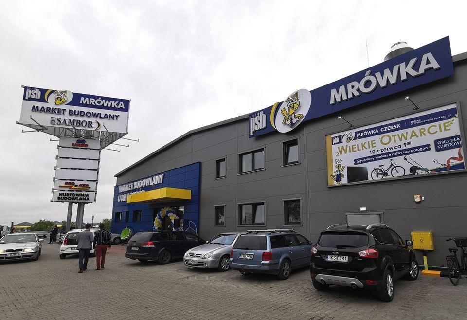 320 marketów PSB Mrówka w Polsce!