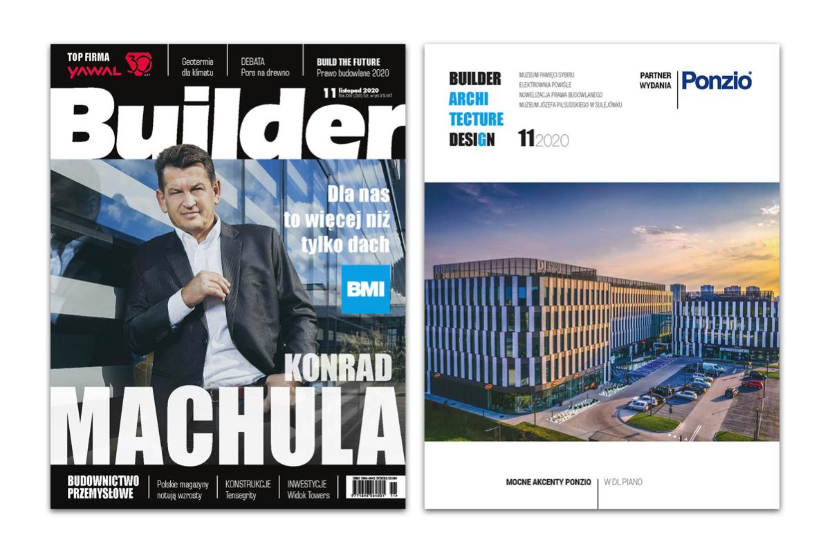 BUILDER – LISTOPAD 2020