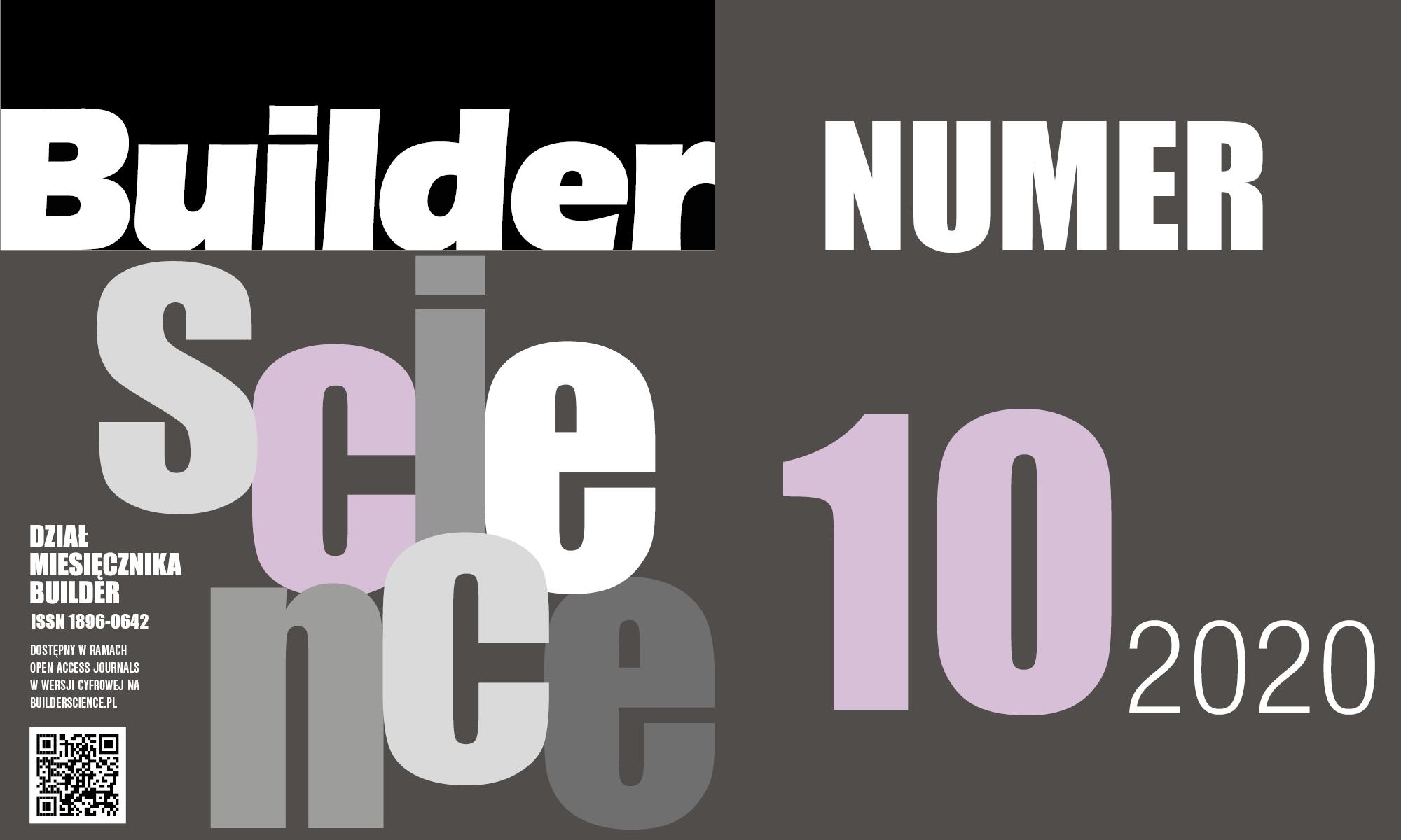 BUILDER SCIENCE 10.2020