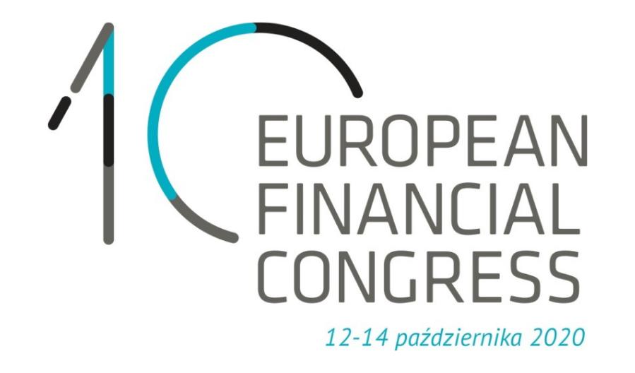 X Europejski Kongres Finansowy, 12-14 października 2020