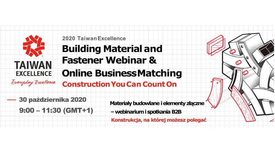 Taiwan Excellence – webinarium i spotkania B2B