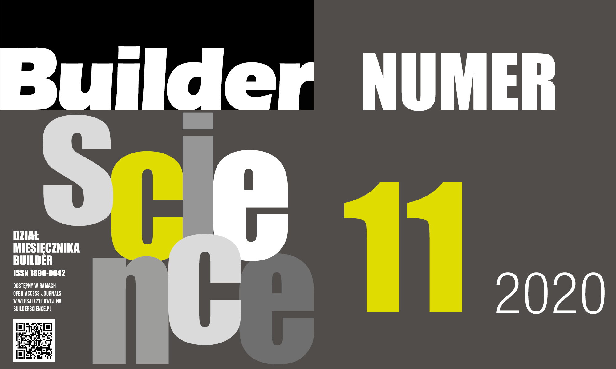 BUILDER SCIENCE 11.2020