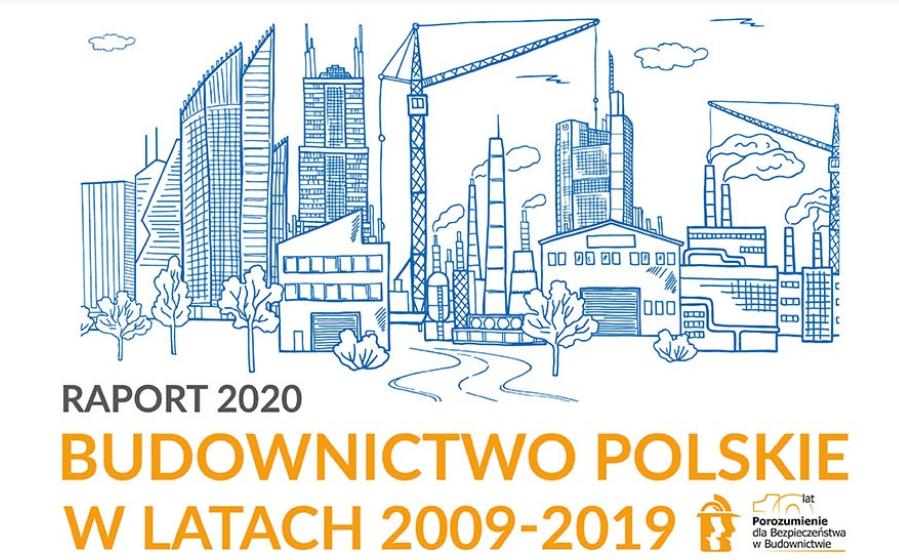 Spadła liczba wypadków i poszkodowanych na budowach w Polsce