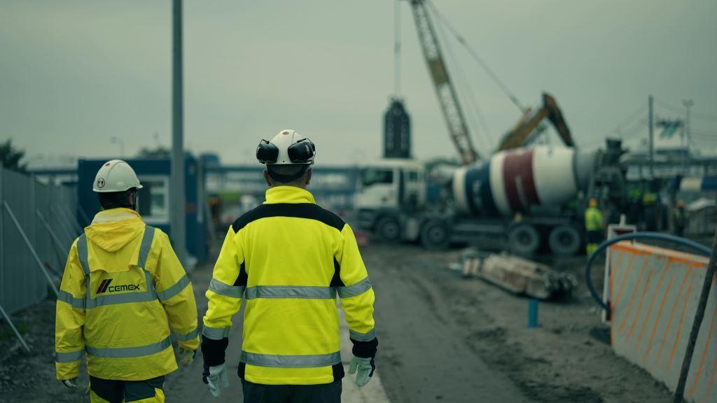 Beton CEMEX na budowie tunelu pod Świną