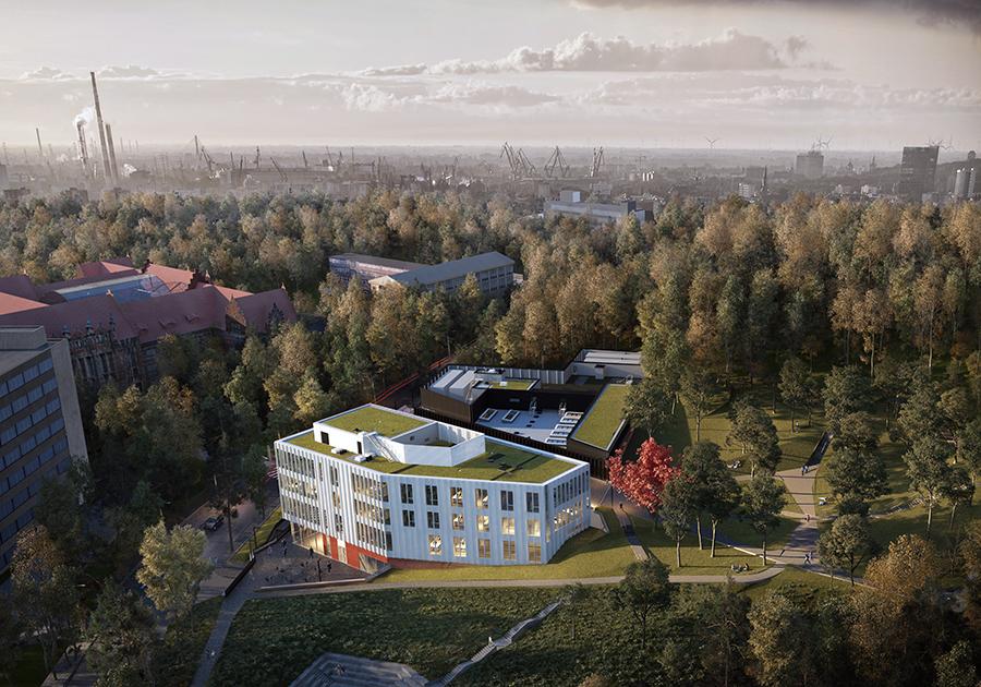 Politechnika Gdańska rozpoczęła budowę centrum informatycznego STOS za 156 mln zł