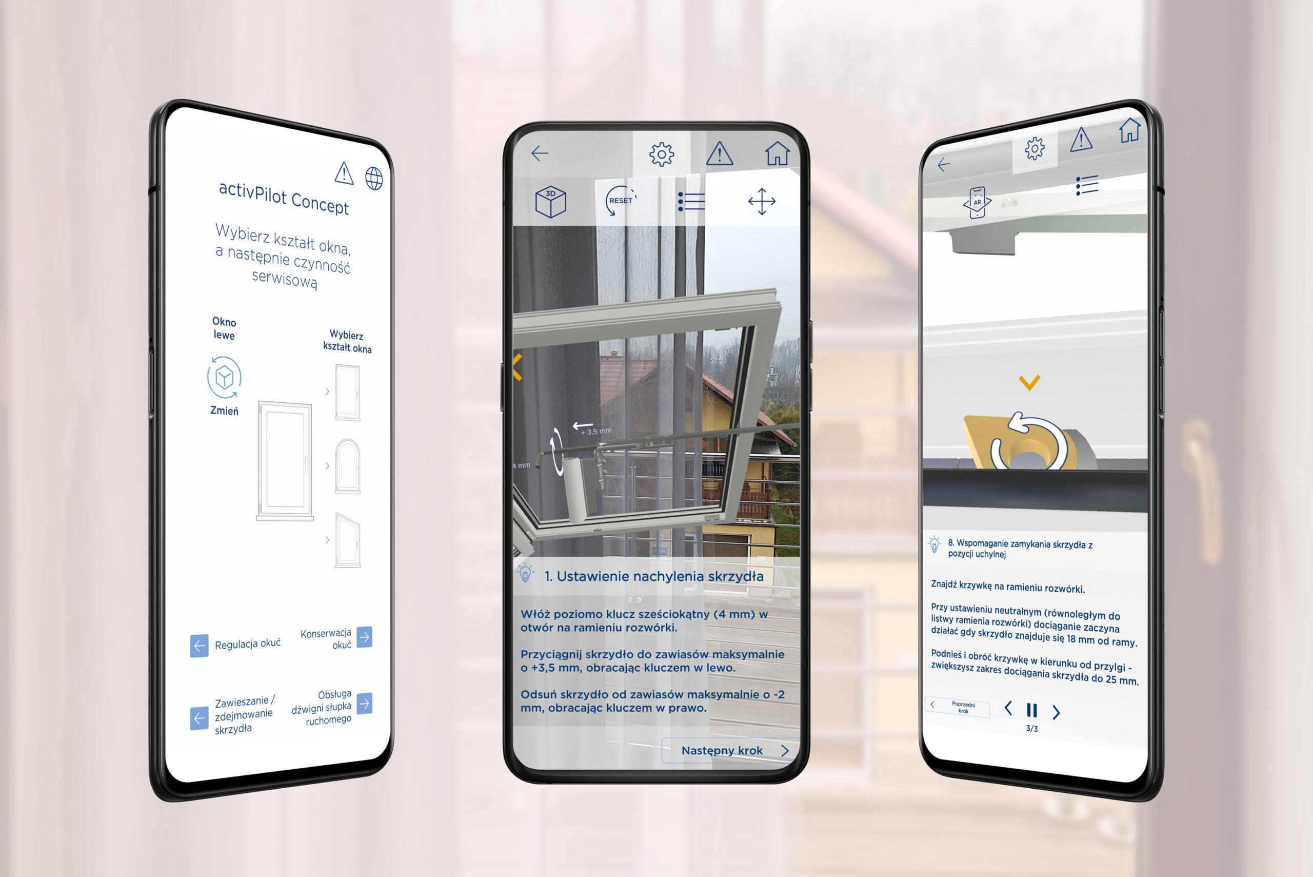 Aplikacja do serwisowania okien
