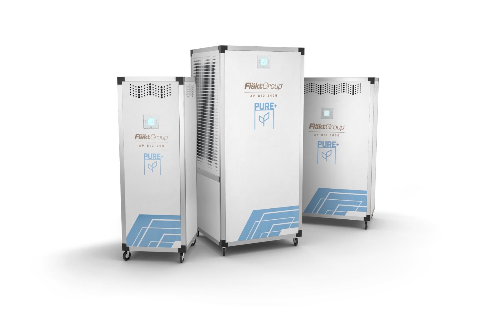 AP BIO innowacyjny oczyszczacz powietrza firmy FläktGroup