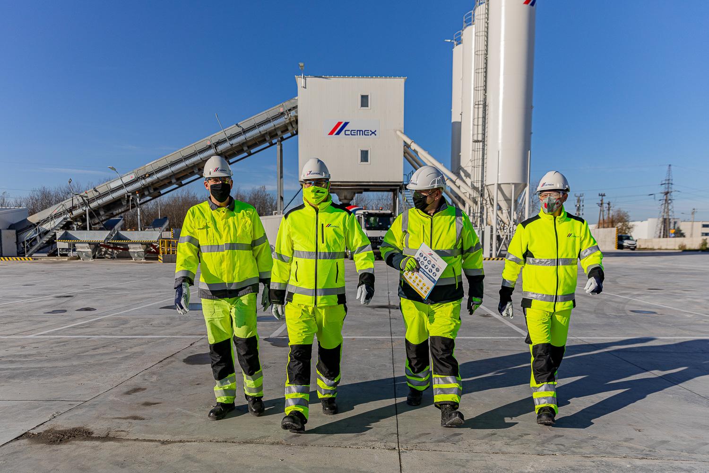 Nowa wytwórnia betonu CEMEX Polska w Pruszkowie