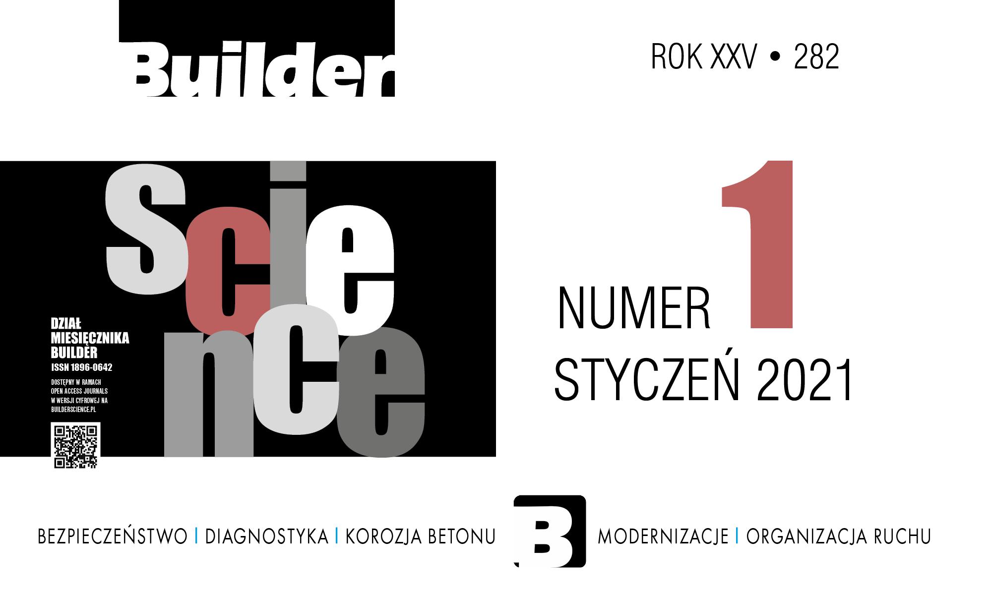 BUILDER SCIENCE 01.2021
