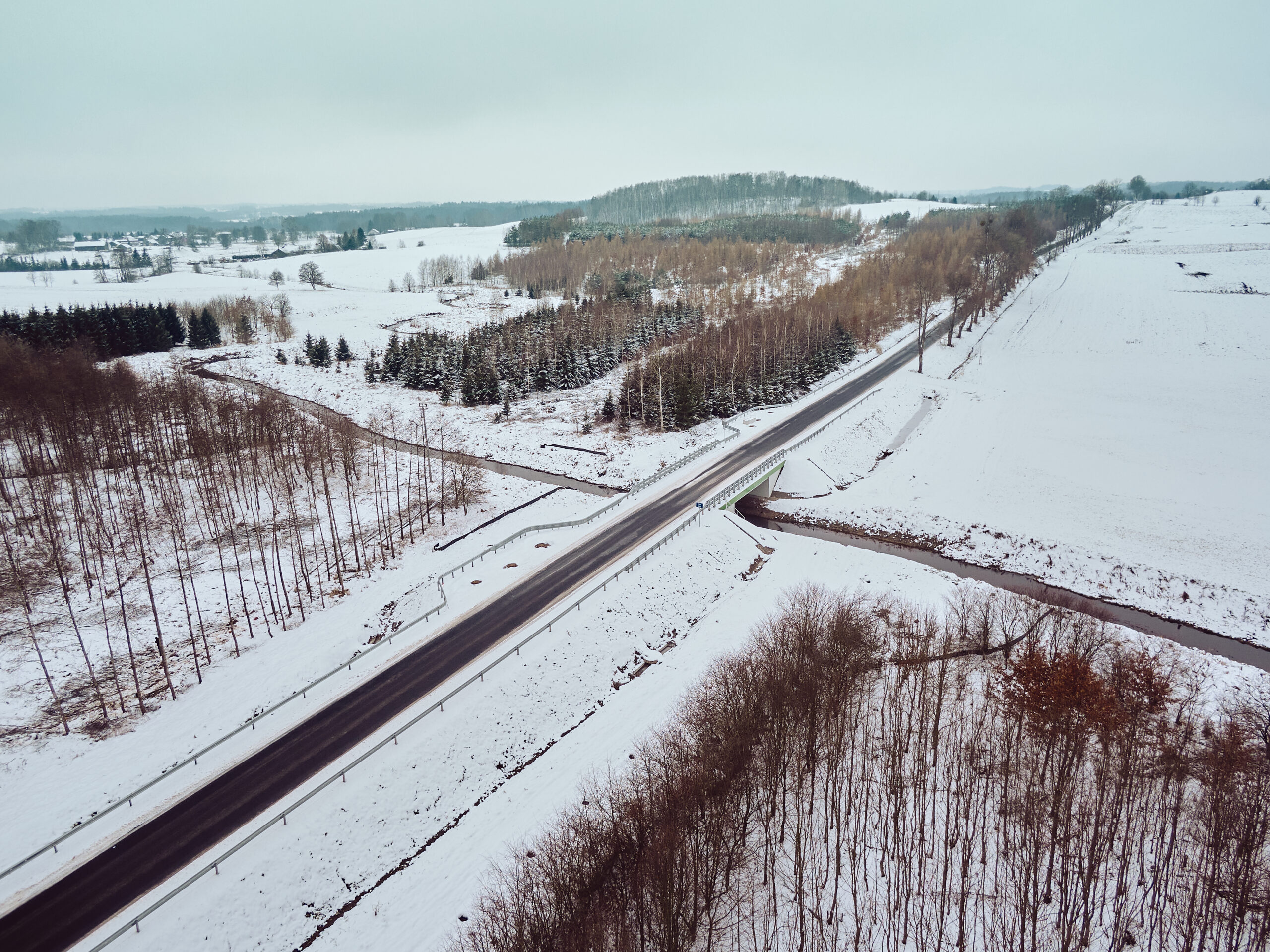 Rozbudowa drogi 512 Pieniężno-Bartoszyce na półmetku