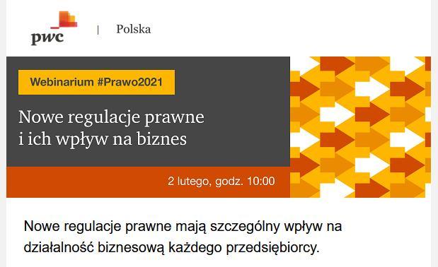 Webinarium:#Prawo2021 – nowe regulacje prawne…