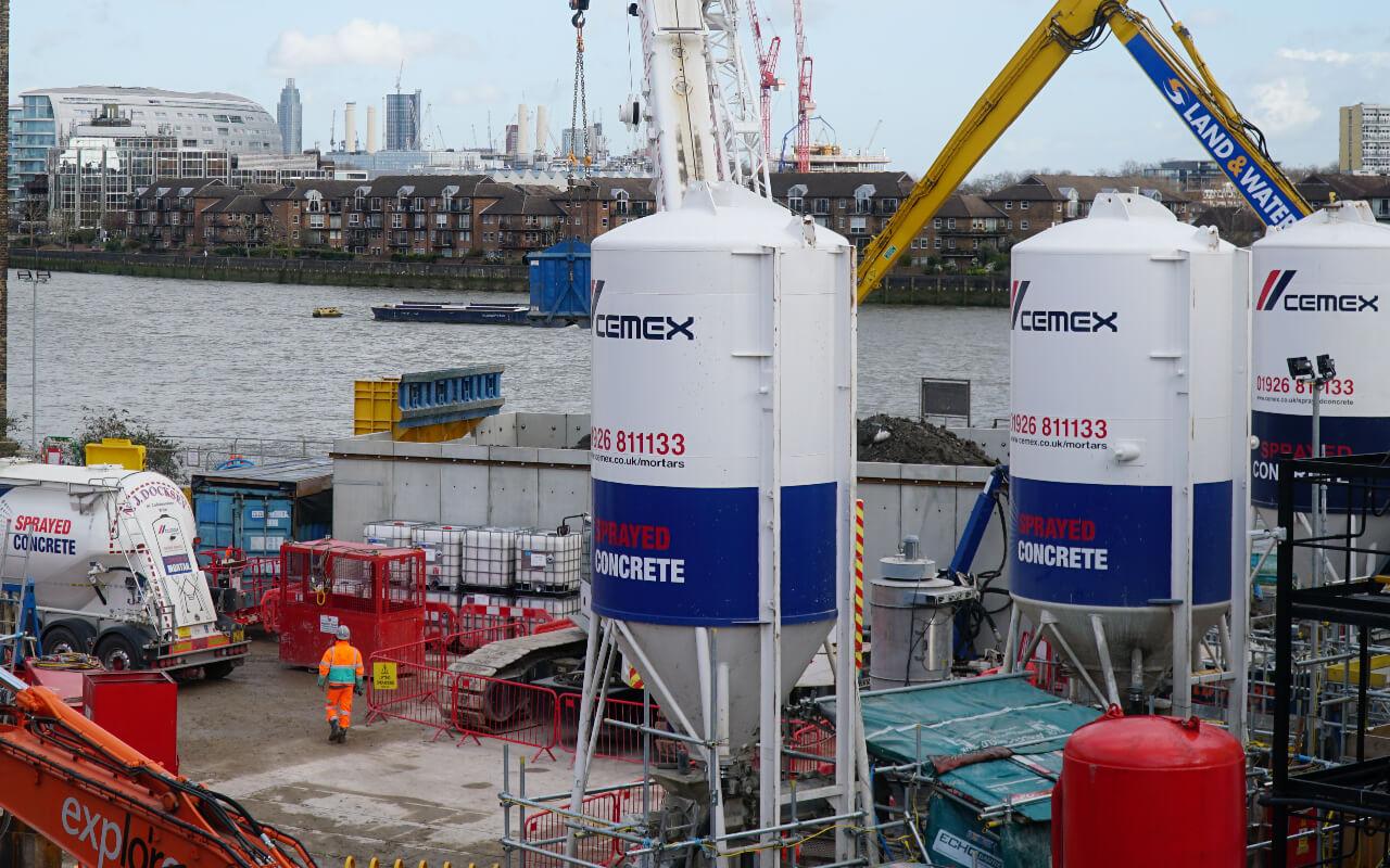 CEMEX uczestniczy w największej inwestycji wodno-kanalizacyjnej w Wielkiej Brytanii