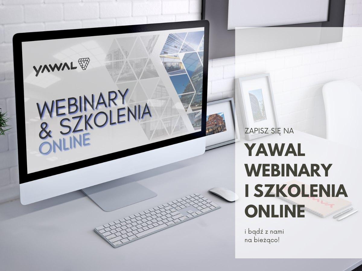 Zapisz się na szkolenia i webinary AkademiiYawal 2021!