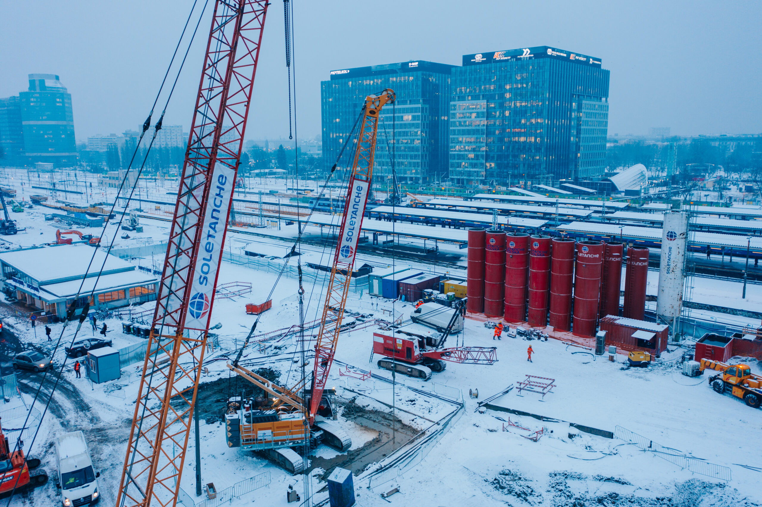 Przebudowa Dworca Warszawa Zachodnia