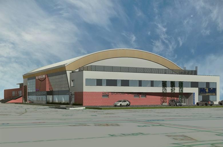 W.P.I.P. buduje halę sportową w Nowej Soli