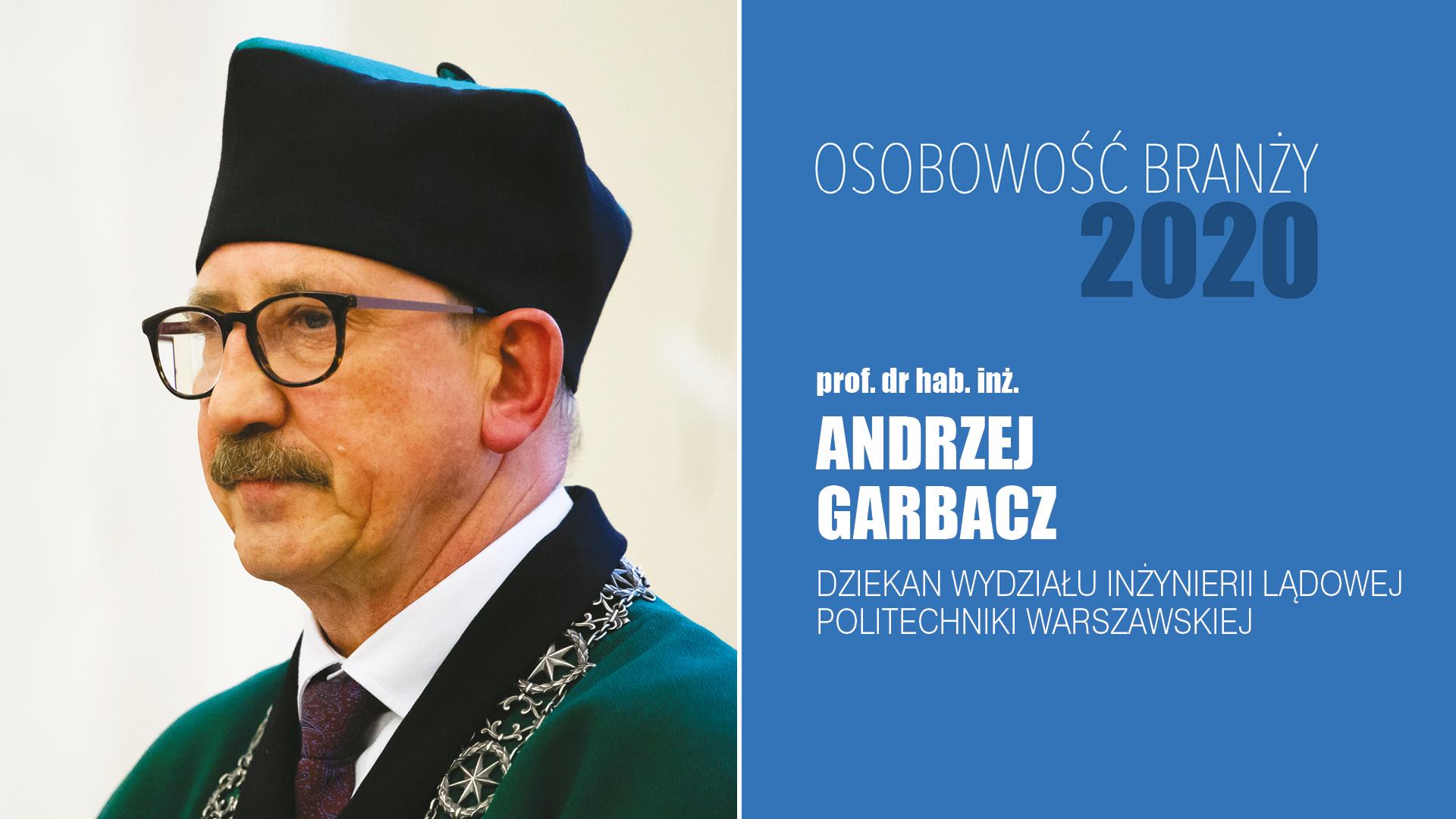 prof. dr hab. inż. Andrzej Garbacz