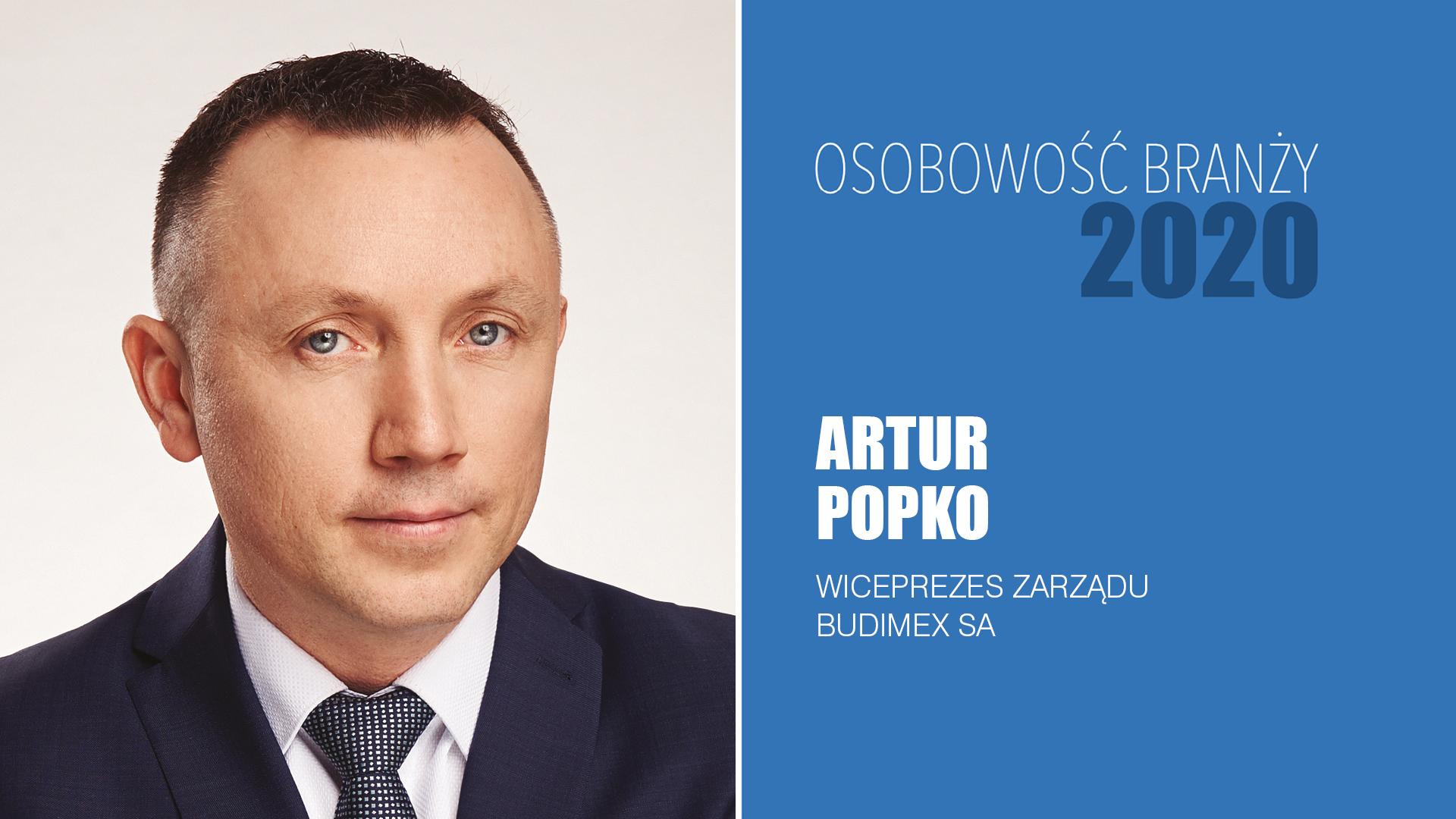 ARTUR POPKO – Osobowość Branży 2020