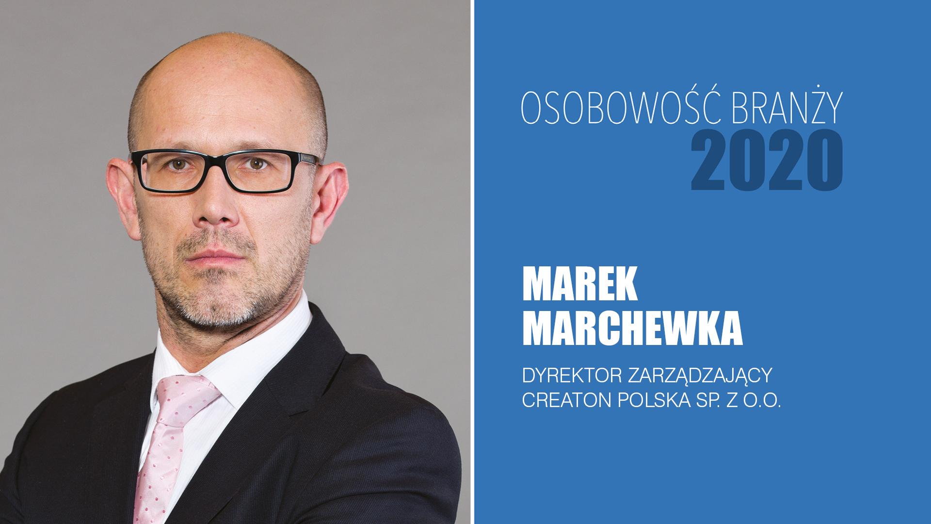MAREK MARCHEWKA – Osobowość Branży 2020