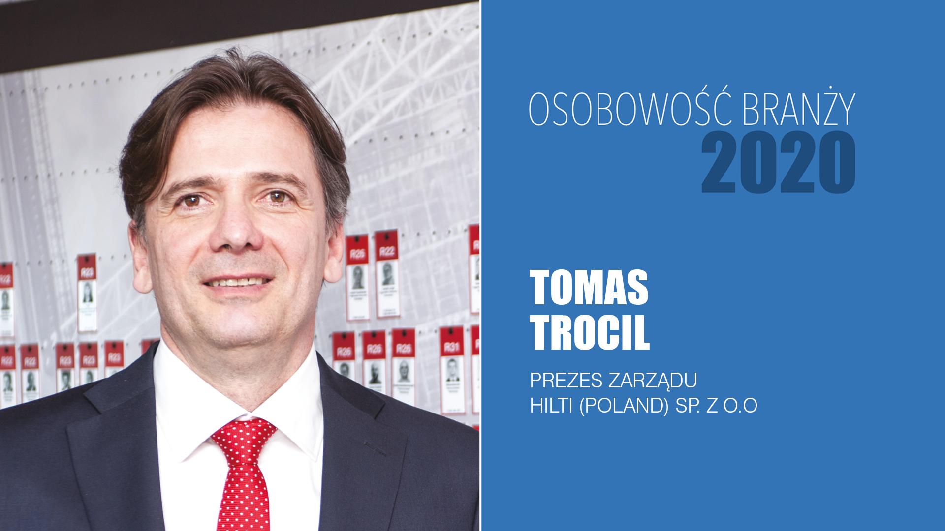 TOMAS TROCIL – Osobowość Branży 2020