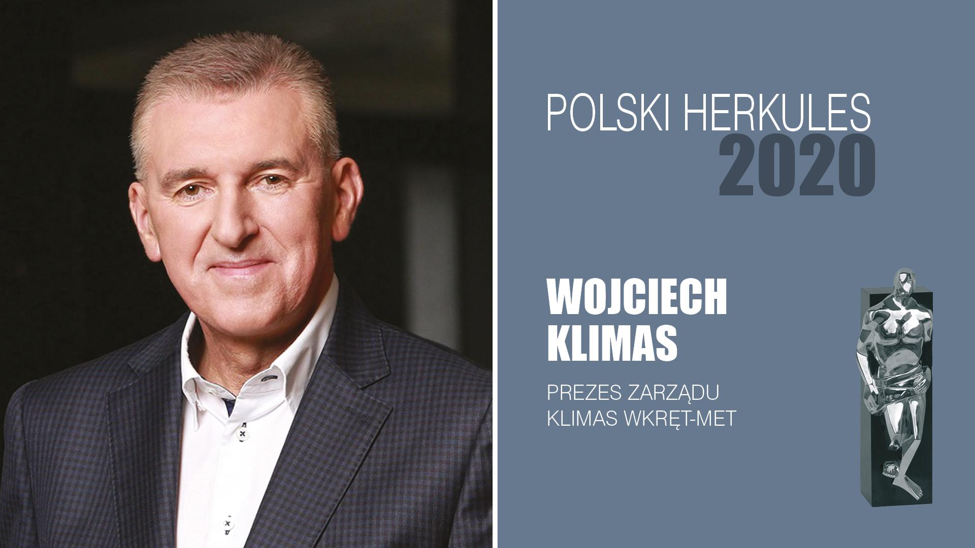 WOJCIECH KLIMAS – Polski Herkules 2020