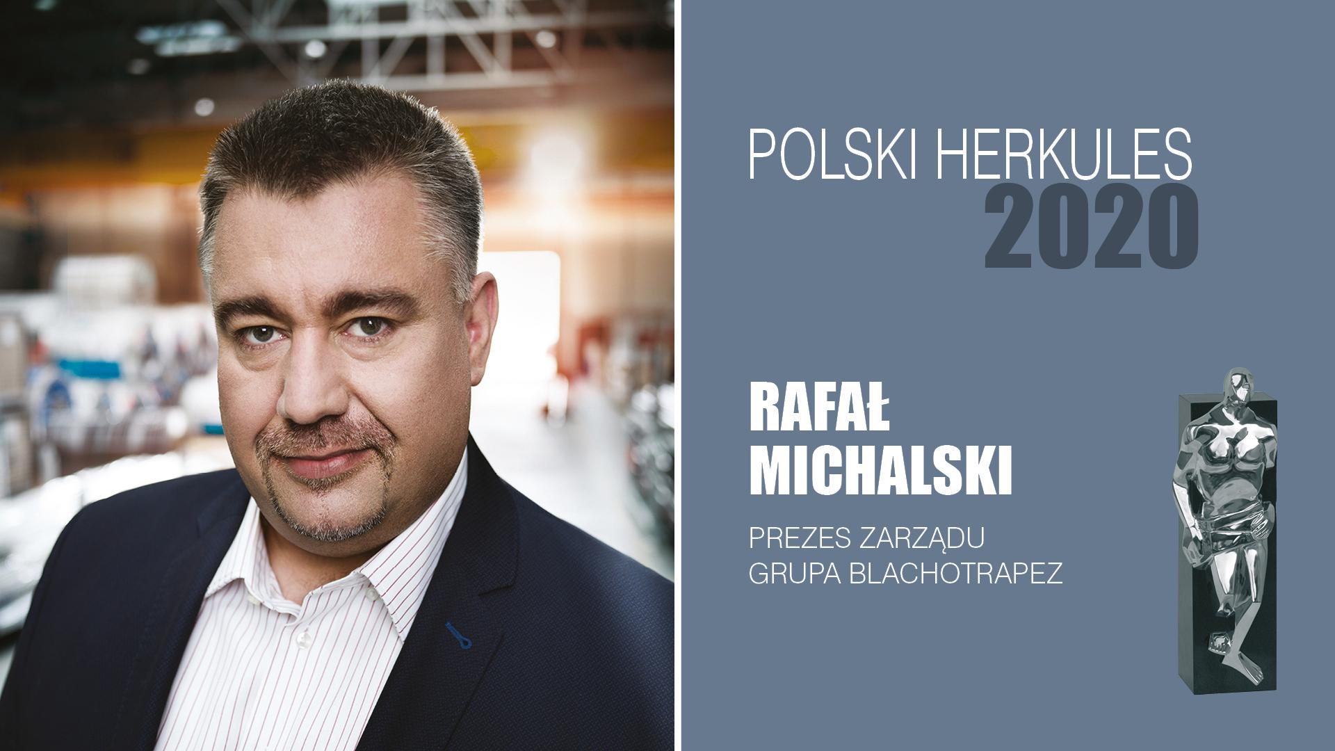 RAFAŁ MICHALSKI – Polski Herkules 2020