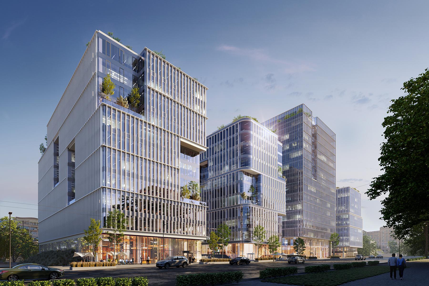 Nuvo Business Park – nowy projekt APA Wojciechowski w Kijowie!