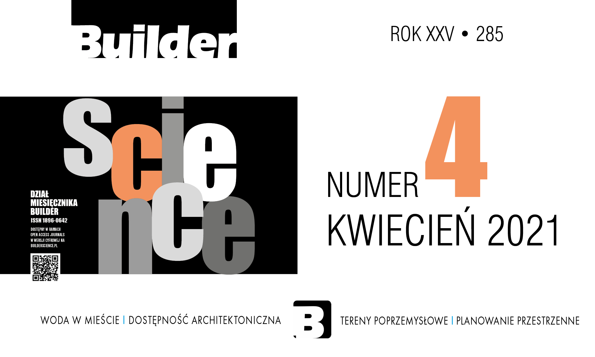 BUILDER SCIENCE 04.2021