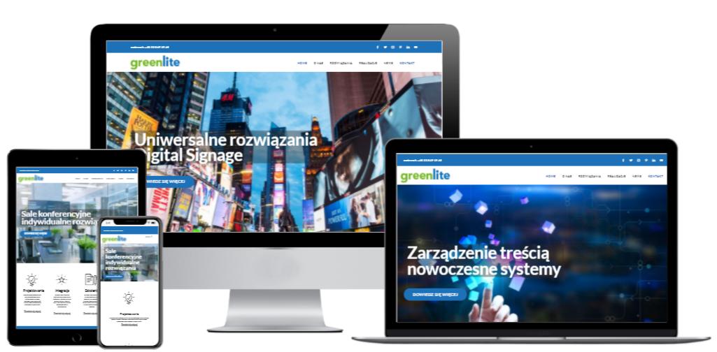 Rebranding Greenlite – projektowanie, integracja, wsparcie