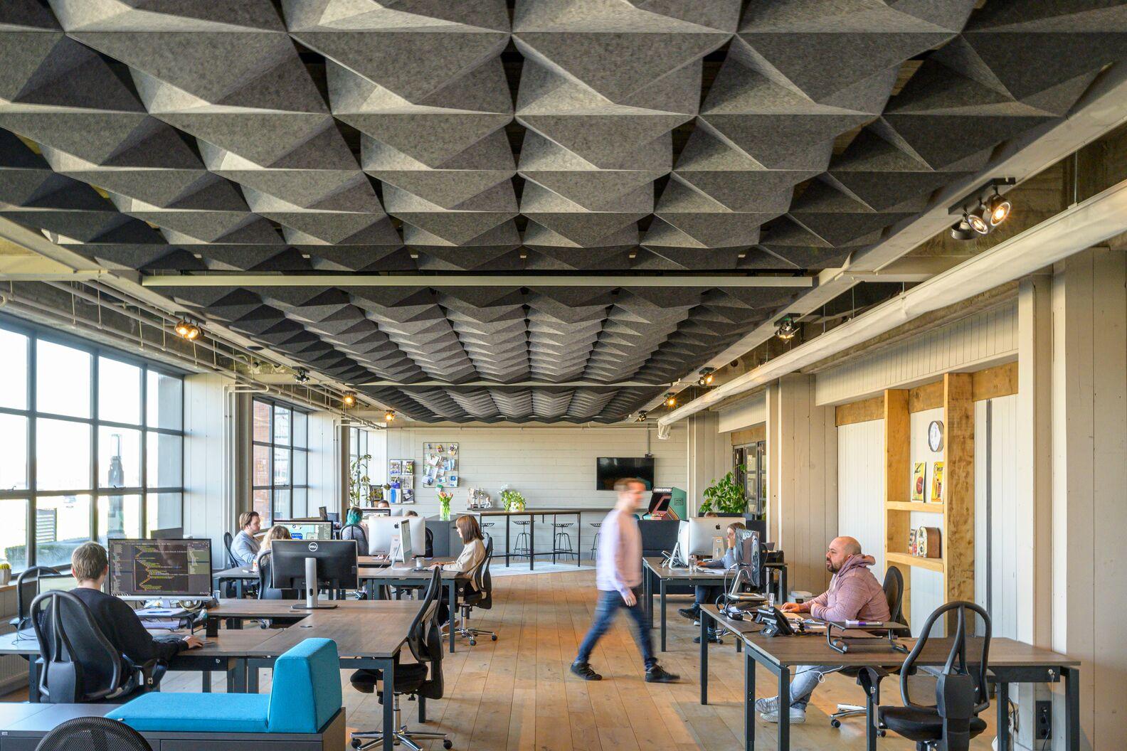 HeartFelt® Origami oferuje wyjątkowe efekty akustyczne i estetyczne
