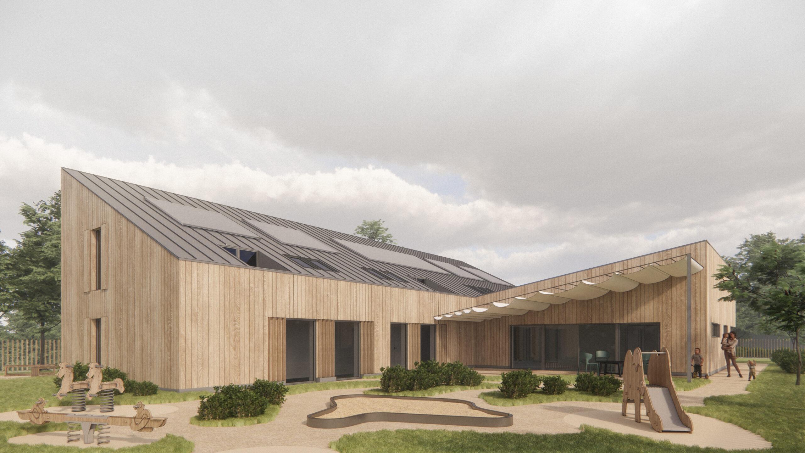 Zrównoważony dom z sercem