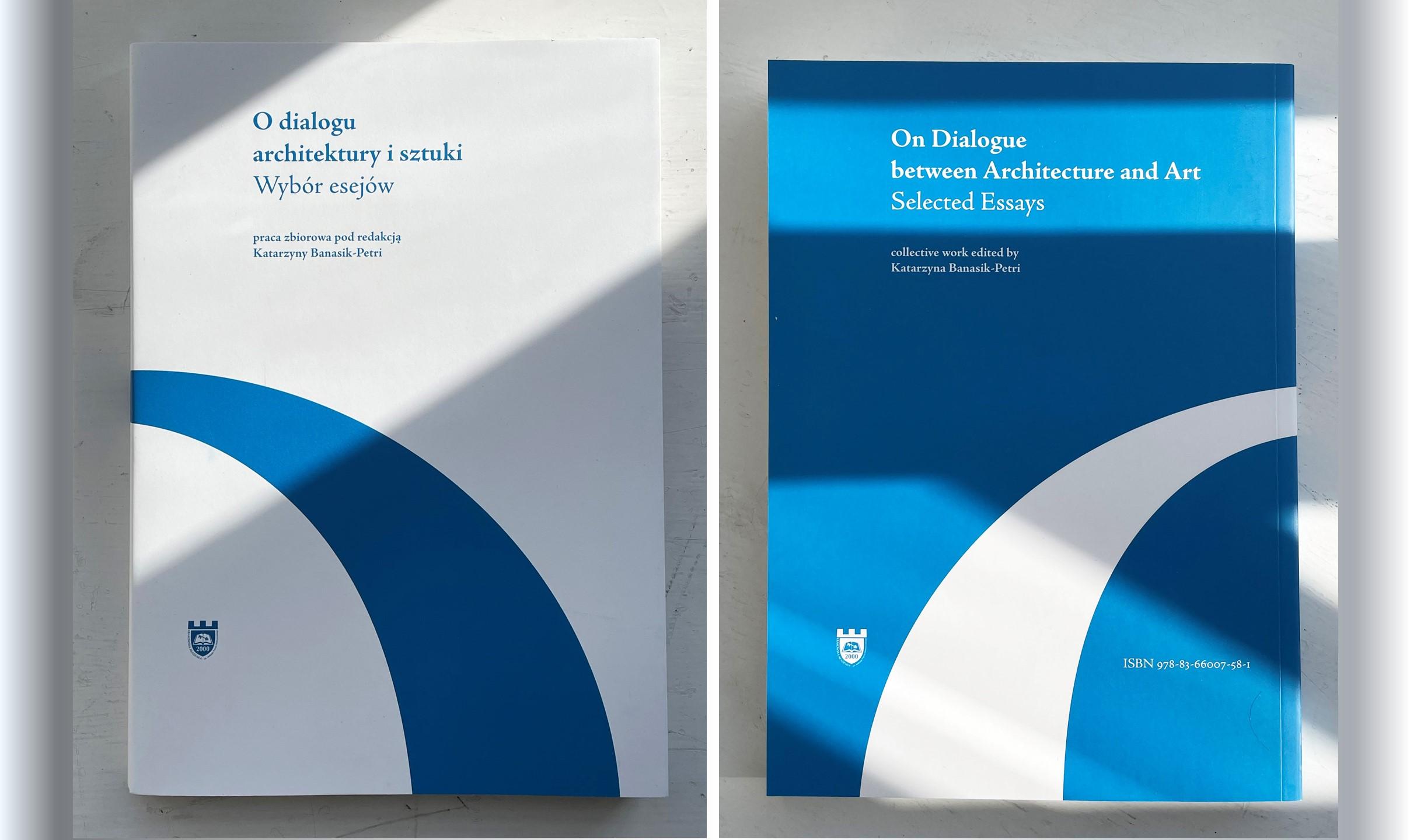 Monografia O dialogu architektury i sztuki