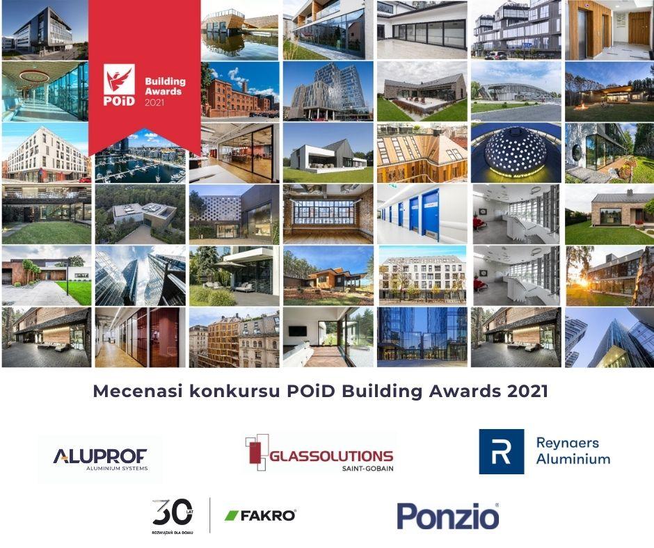 Zakończenie etapu zgłoszeń do konkursu Poid Building Awards 2021
