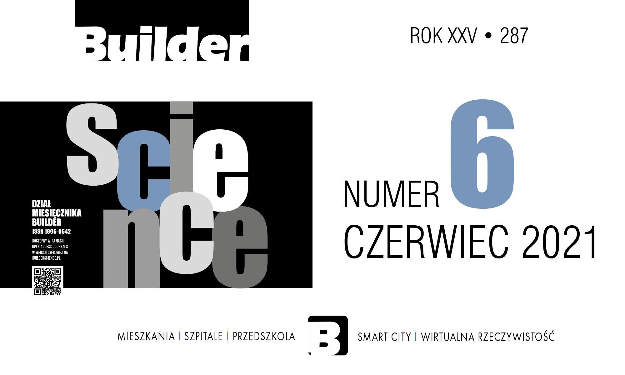 BUILDER SCIENCE 06.2021